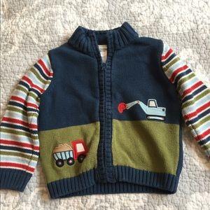 Adorable Gymboree full zip sweater